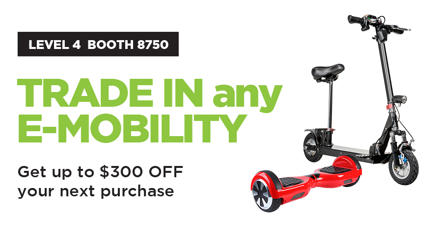 Trade-in any E-Mobility